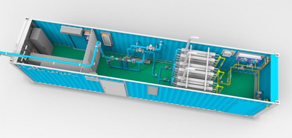 Схема станции МКС (40 футовый
