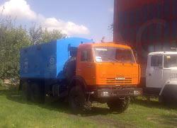 Передвижная азотная станция ТГА-5/101