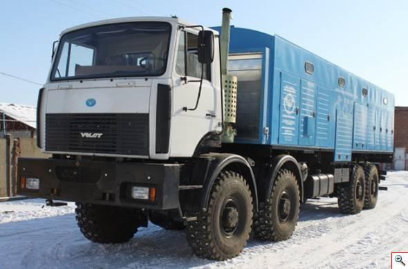 передвижная дизельная генераторная установка